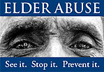 Elder abuse prevention advertising campaign