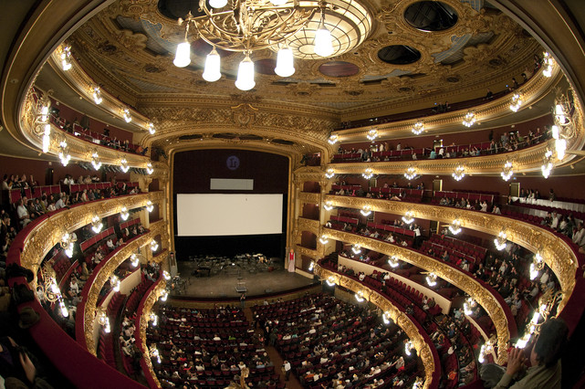 One of the most popular theaters located in Barcelona