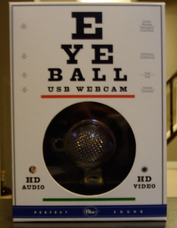 Blue Microphones Eyeball box