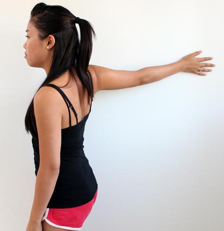Wall Chest Stretch. Retrieved from: http://www.massagestudyguide.net/wp-content/uploads/2012/09/straightarm-wall-chest-stretch.jpg