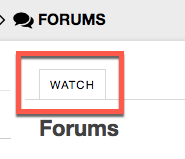 Forums E-Mail notifications are controlled under Forums > Watch