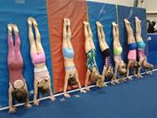 Gymnastics clubs promote fundamental fitness skills for all ages to help improve physical and mental fitness.Photo taken by Marina Rose.