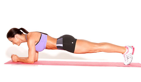 Plank on Elbows. Taken from: http://www.erinchapmanfitness.com/wp-content/uploads/2013/04/Bridge-Plank-on-Elbows.jpg