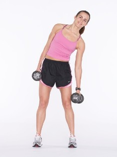 Standing Oblique Crunch