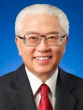 The current President of Singapore,Tony Tan l