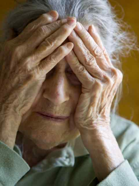 An elderly individual who has been subjected to psychological abuse by their caregiver.