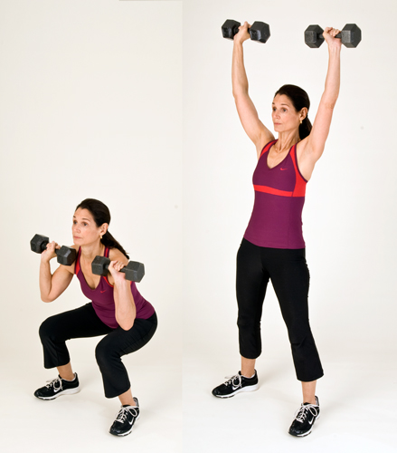 Squat with Press