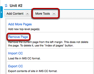 Image:Click More Tools, then Remove Page.png