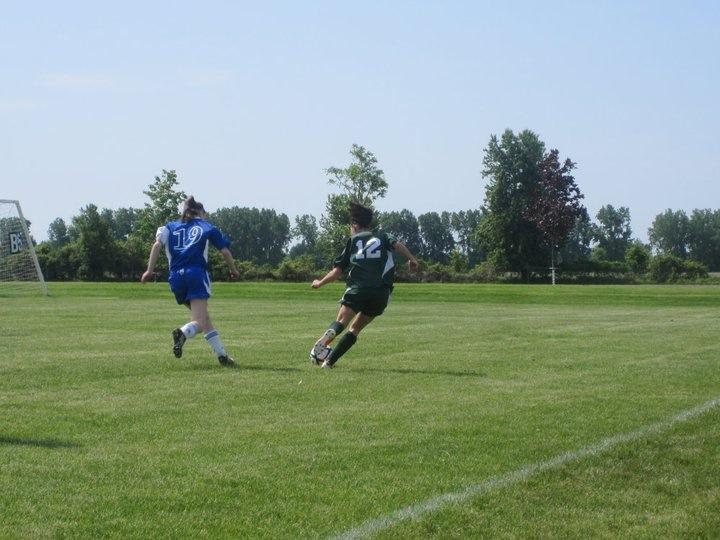 Soccer is a fantastic way to participate in physical activity as well as be apart of a team! Photo by Danielle Luciani