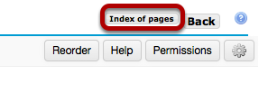 Image:Click Index of Pages to view all pages.png