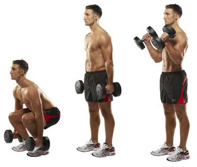 Squat with Biceps Curl. Retrieved from: http://www.google.com/imgres?authuser=0&hl=en&biw=1280&bih=681&tbm=isch&tbnid=I67PocZUh4-s1M:&imgrefurl=http://getfityou.com/how-to-get-bigger-biceps-with-squats&docid=3F8n5h48hktizM&imgurl=http://getfityou.com/wp-content/uploads/2012/03/Squats-to-Biceps.jpg&w=400&h=400&ei=GNOQUoTCFcjgrAG3p4CoDw&zoom=1&ved=1t:3588,r:2,s:0,i:85&iact=rc&page=1&tbnh=178&tbnw=184&start=0&ndsp=20&tx=123&ty=96