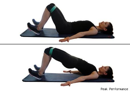 Glute Bridge Hip Raises. Retrieved from: http://3.bp.blogspot.com/-YECobjzh2pw/TynyammvCkI/AAAAAAAAAJc/TqhoMpR3CJE/s1600/glute%2Bbridge.jpg