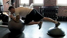 Image:Male Stability-Ball-Knee-Drives-on-Bosu 220.jpg