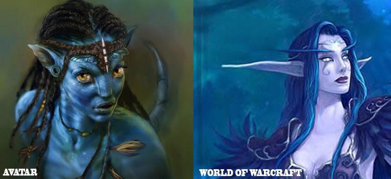 World of Warcraft vs Avatar Comparison