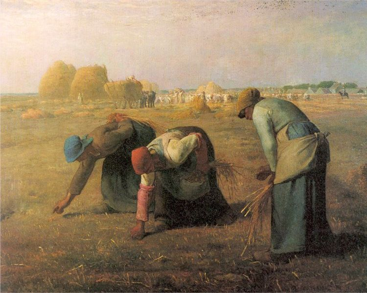 The Gleaners, by Jean-FrancoisMillet.