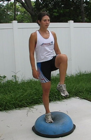 Bosu circles & leg raises. Taken from: http://www.beginnertriathlete.com/cms/articleimages/1282/Bosu-Ball-Leg-raise-bent-knee-in-front-alternating3.jpg