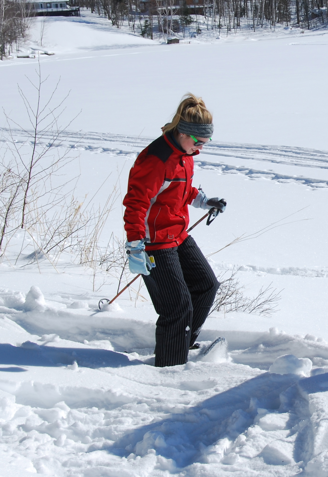 Snowshoeing is a great way to hike in the winter! Photo by Mark Jansen