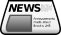 Images with text, such as scanned news articles